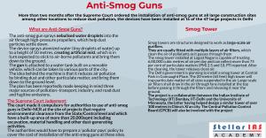 anti smog guns