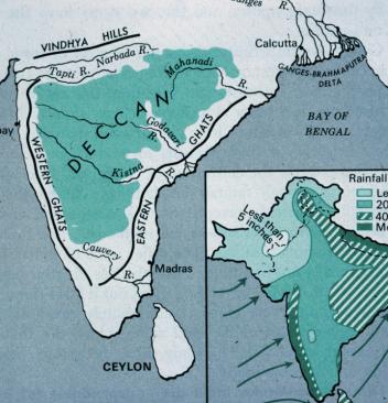 peninsular plateau