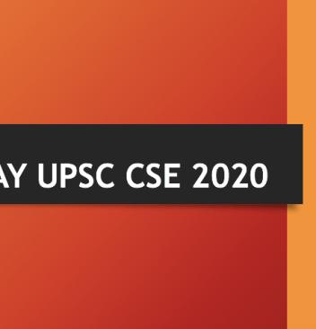 ESSAY UPSC 2020